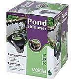 Velda 126450 Oberflächenfilter mit Pumpe für Teichoberfläche bis 20m2, Pond Skimmer