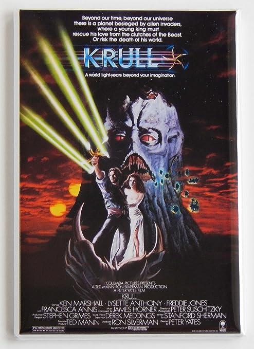 Krull Póster de la película imán para nevera (2 x 7,62 cm): Amazon ...