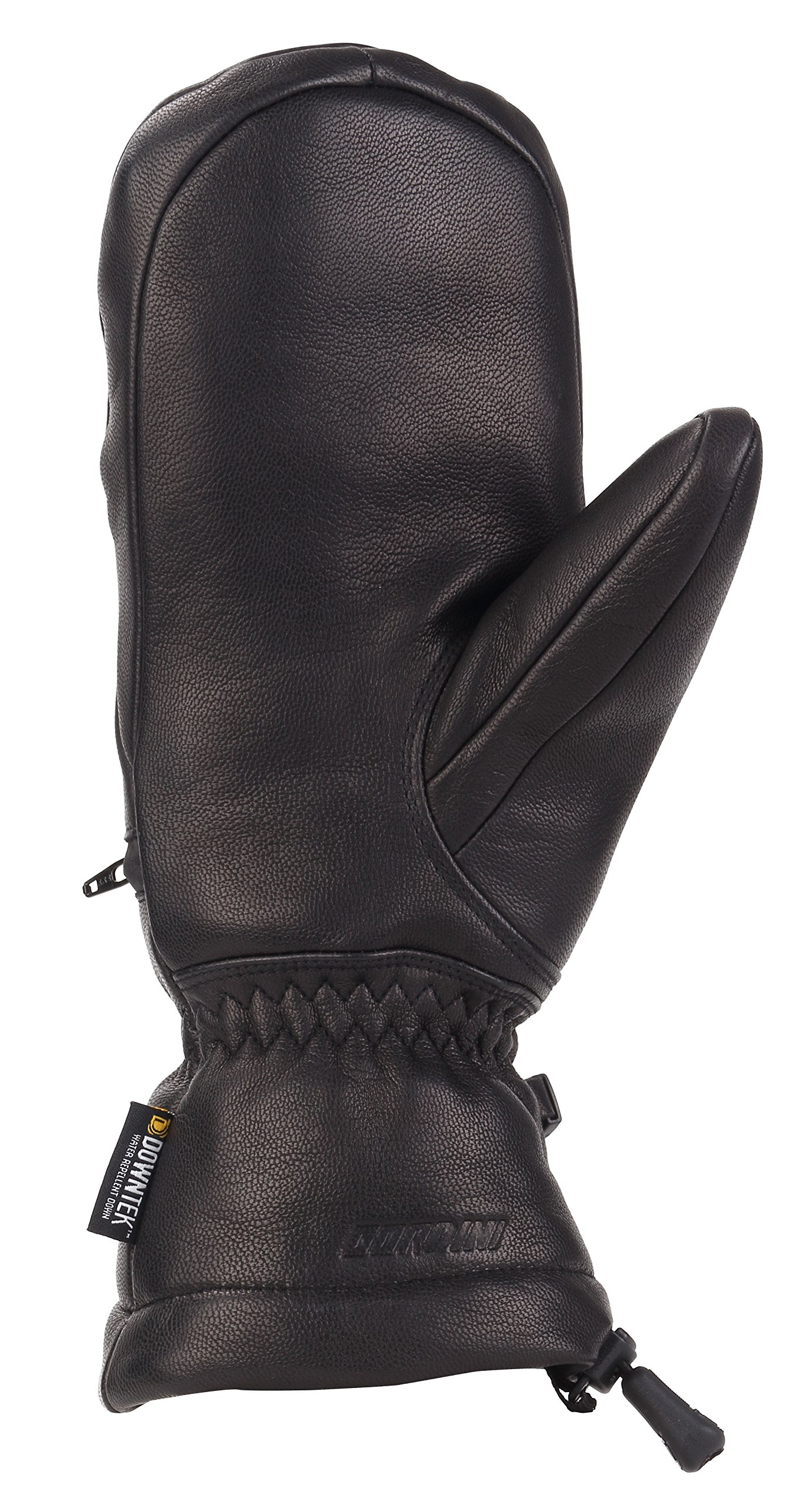 Gordini Women's Women's Leather Goose Iv Insulated Mittens, Black, Large by Gordini (Image #2)