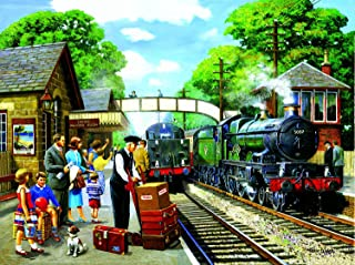 product image for The Train to The Coast 1000 pc Jigsaw Puzzle by SunsOut