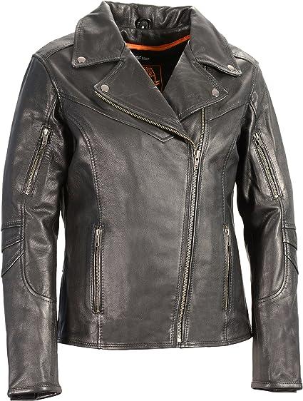 Black, X-Large Milwaukee Leather Womens Chaps