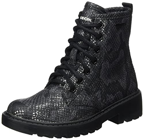 Geox J Casey Girl K Combat Boots  Amazon.co.uk  Shoes   Bags 643d4e4073e