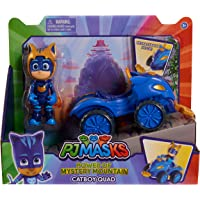 Pj Masks 95456 Mystery Mountain Quads - Catboy, Multicolored, Small