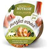 Rachael Ray Nutrish Purrfect Entrees Grain Free Natural Wet Cat Food, Cravin' Chicken Dinner, 2.8 oz. tub (Pack of 12)