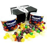Charms Sour Balls, 12 oz Canisters in a Gift Box (Pack of 2)