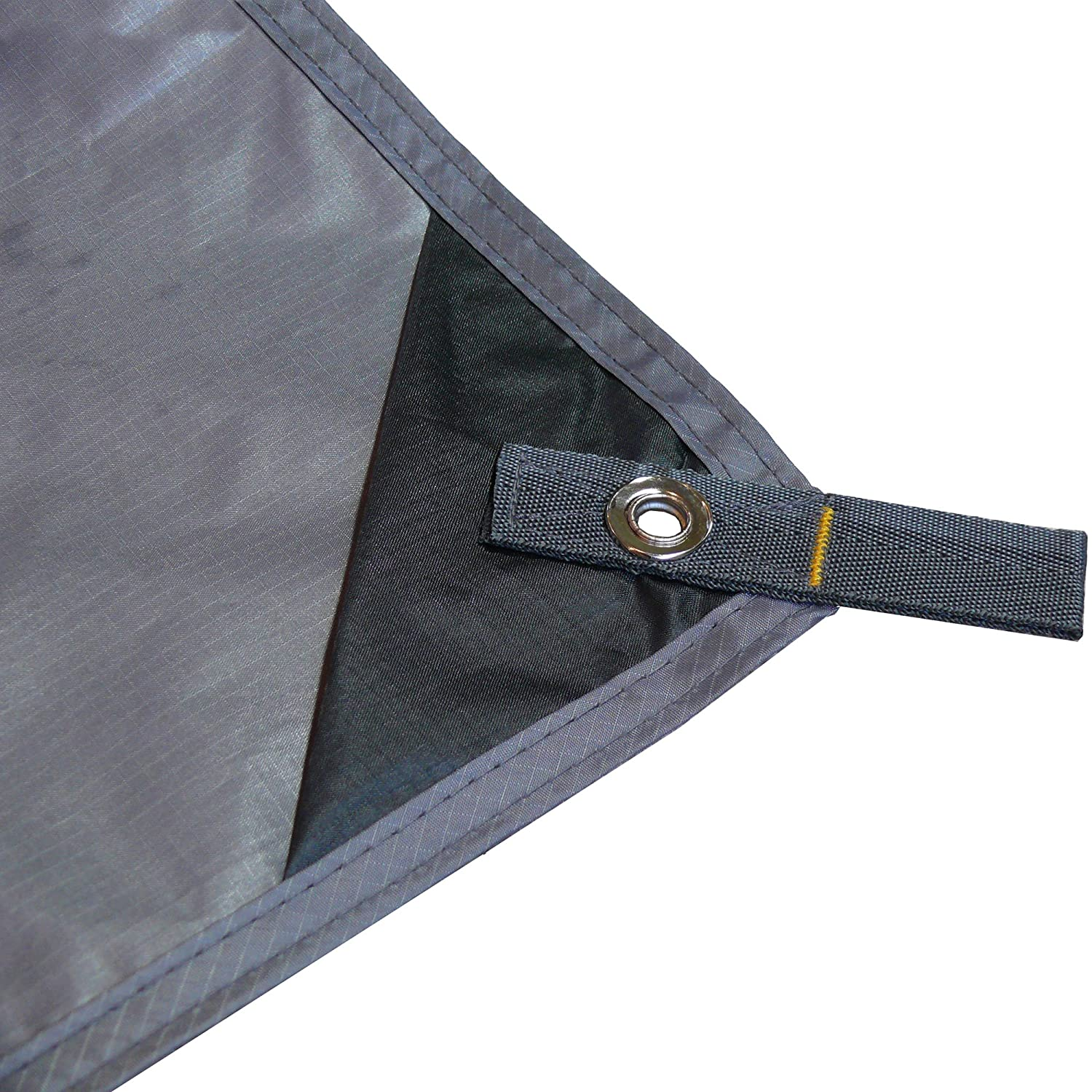 Blue, Gray, Green Tarp Only or Kit with Optional Guyline /& Tent Stakes Riptop Polyester Doesnt Sag Tent Tools Bushcraft Camping Tarp by Premium Lightweight Rain Tarp
