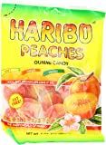 Haribo Gummi Candy, Peaches, 5 Ounce