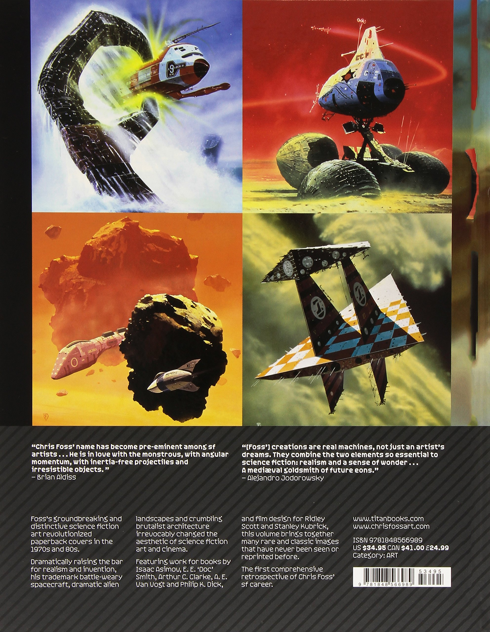 Hardware The Definitive SF Works Of Chris Foss Rian Hughes 9781848566989 Amazon Books