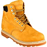 "EVER BOOTS ""Tank Men's Soft Toe Oil Full Grain Leather Work Boots Construction Rubber Sole"