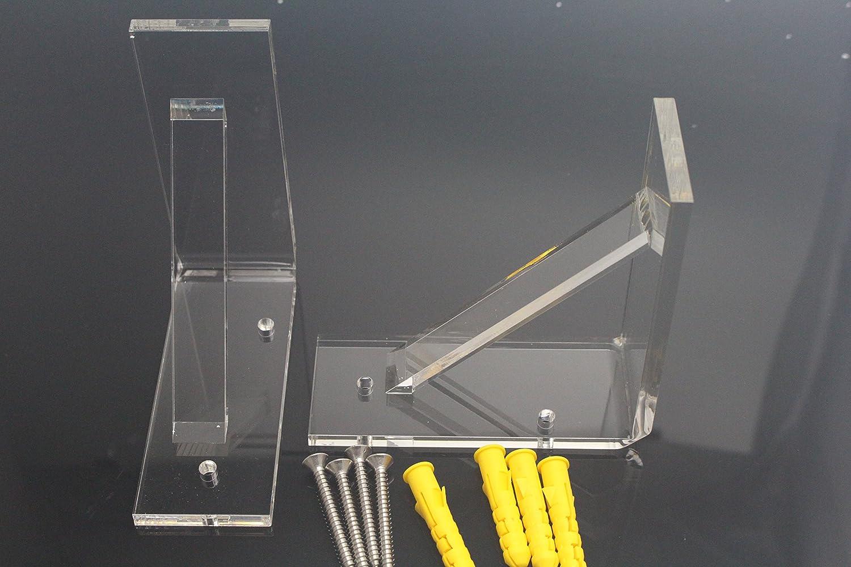 SPARIK ENJOY Wall Mounting Brackets for LED Liquor Shelf-2 Pack (2 pcs)