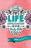 NLT Girls Life Application Study Bible (Hardcover)