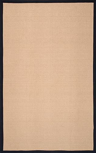 nuLOOM Laurel Machine Woven Jute Rug, 3 x 5 , Black
