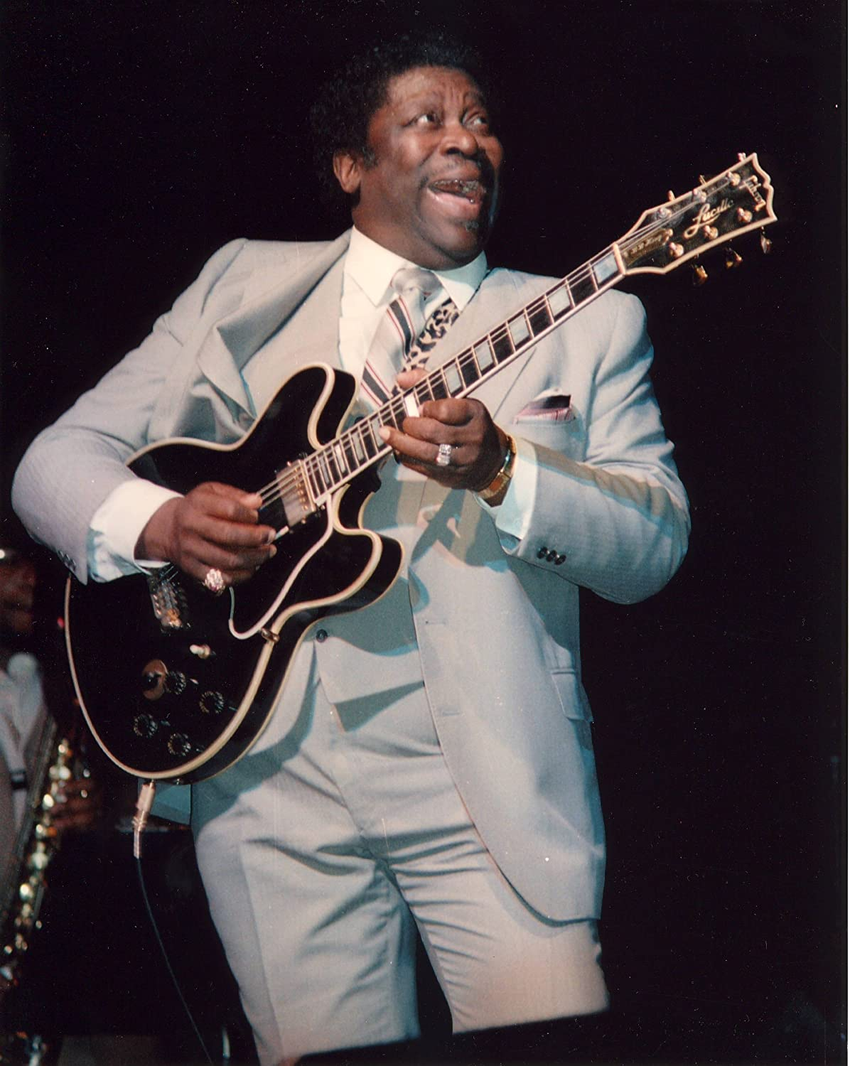 B.B. King Photo Lucille Guitar Rock N Roll Blues Music Musician ...