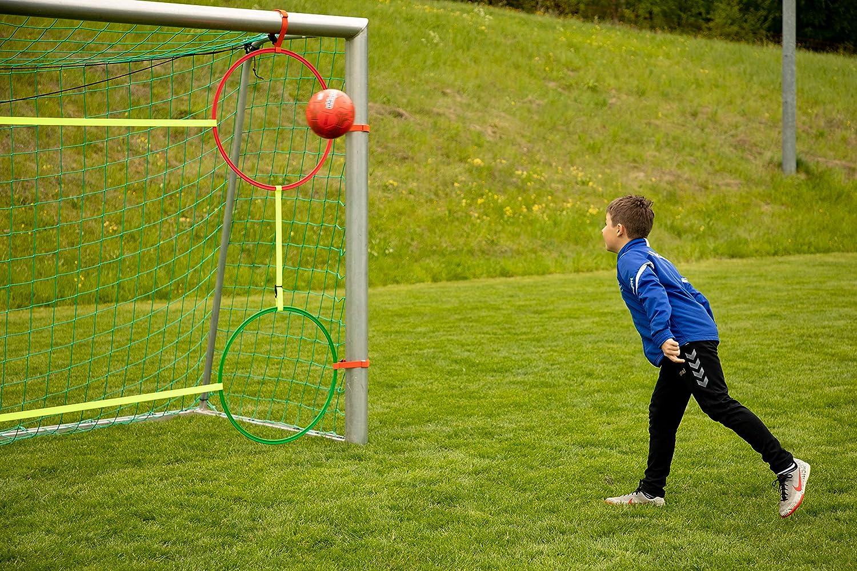 STRAB Premium Fu/ßball-Torwand Einfacher Auf- und Abbau Perfekt f/ür effektives Training im Fu/ßball