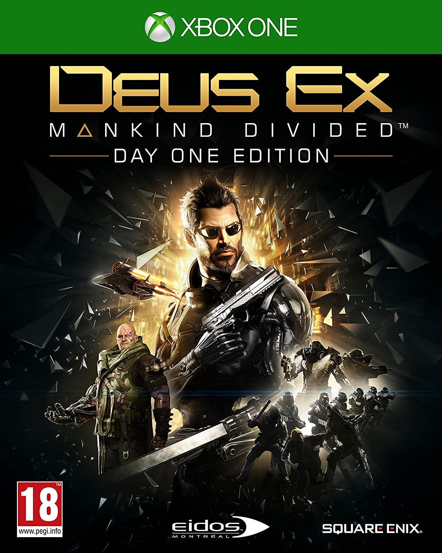 Deus Ex: Mankind Divided Day One Edition [Importación Inglesa ...