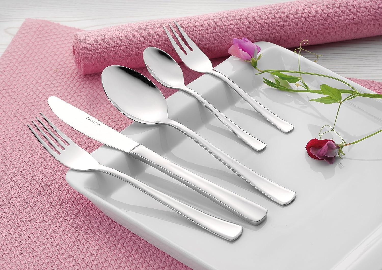 Pack of 12/Cake Forks Stockholm 18//10/POLISHED STAINLESS STEEL. Width 2.0/mm Esmeyer 049/