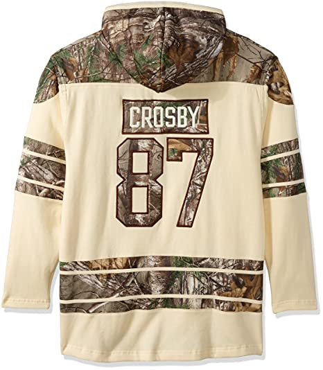 3d39aca28 Old Time Hockey NHL Pittsburgh Penguins Sidney Crosby Men s Realtree Lacer  Name   Number Hoodie