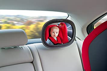 LittleLife Car Mirror Unisex-Baby Black