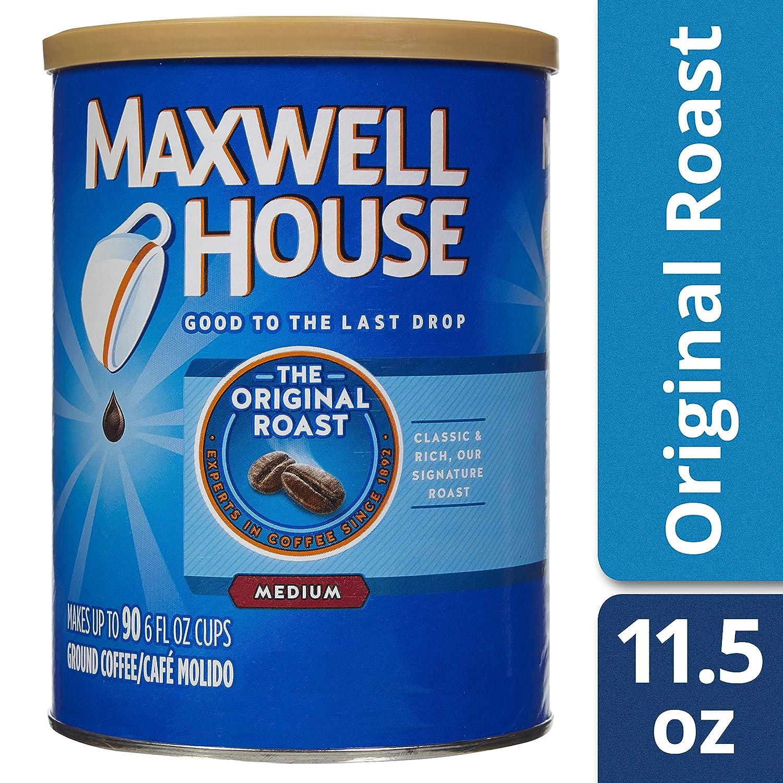 Maxwell House Original Roast Medium Ground Coffee 326g Pack