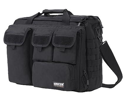 Seibertron Pro- Multifunction Mens Military Tactical Outdoor Shoulder Messenger Laptop Bag Handbags Briefcase Satchel Crossbody