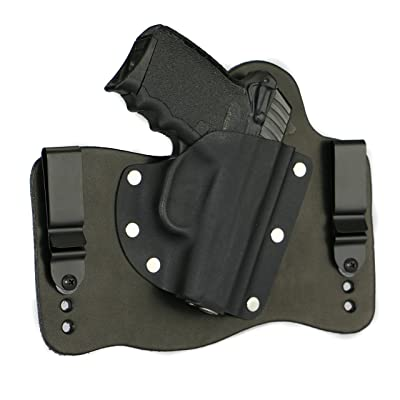 FoxX Holsters SCCY CPX-1 & CPX-2 IWB Hybrid Holster Tuckable, Concealed Carry Gun Holster