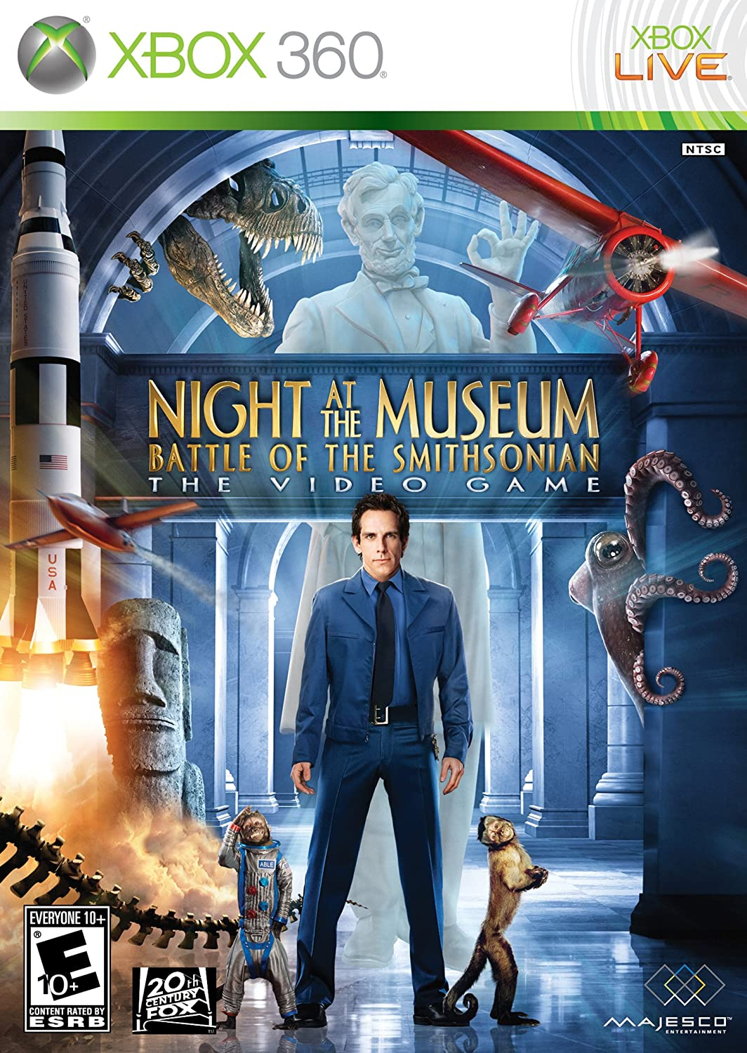 amazon com night at the museum battle of the smithsonian xbox