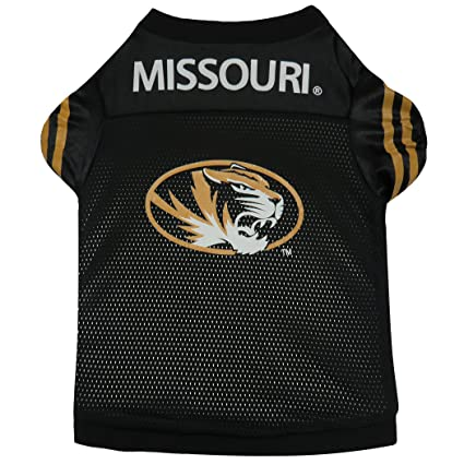 Amazon.com   Sporty K9 University of Missouri Dog Football Jersey ... daca91b57
