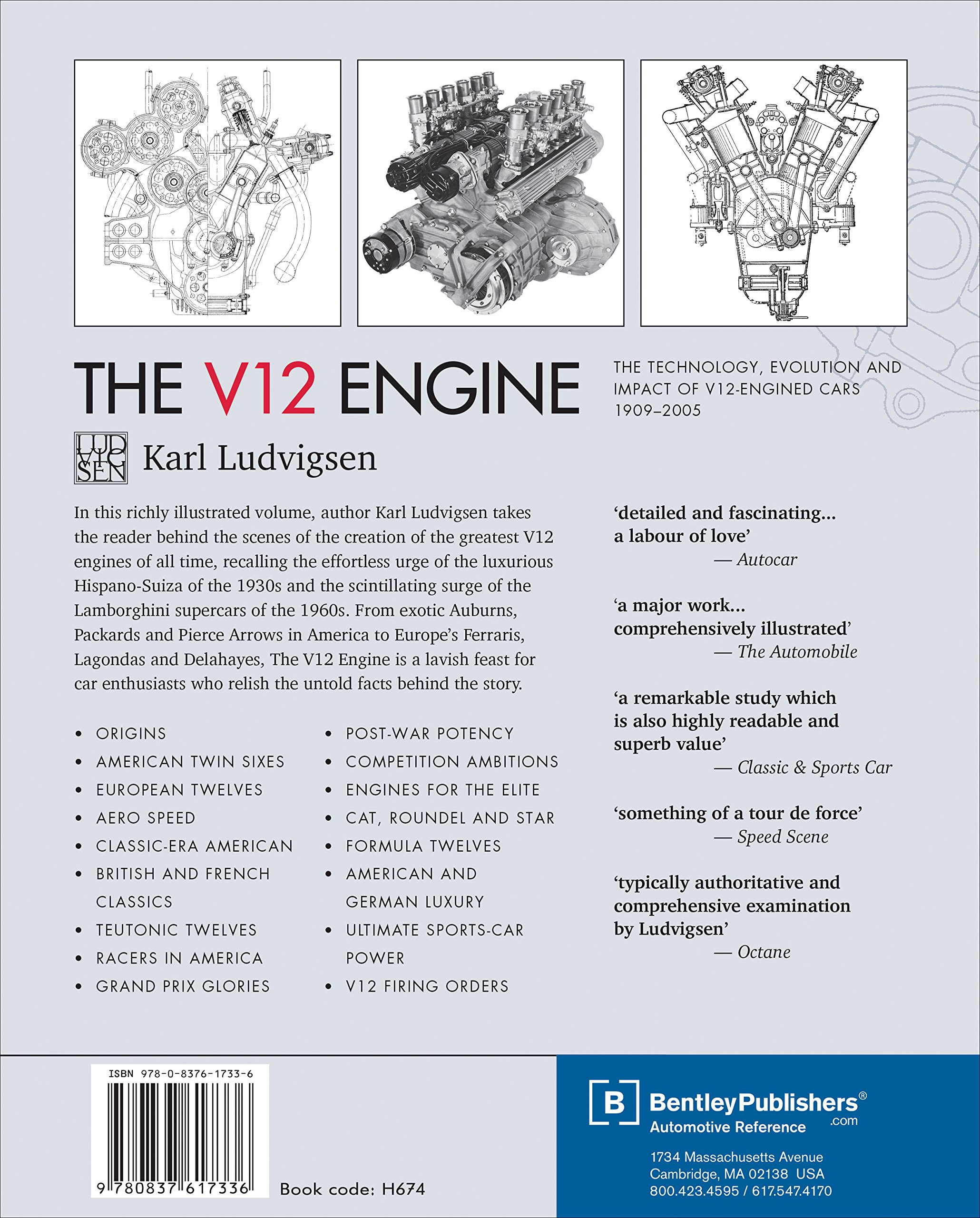 The v12 engine the technology evolution and impact of v12 engined the v12 engine the technology evolution and impact of v12 engined cars 1909 2005 karl ludvigsen 9780837617336 amazon books fandeluxe Gallery