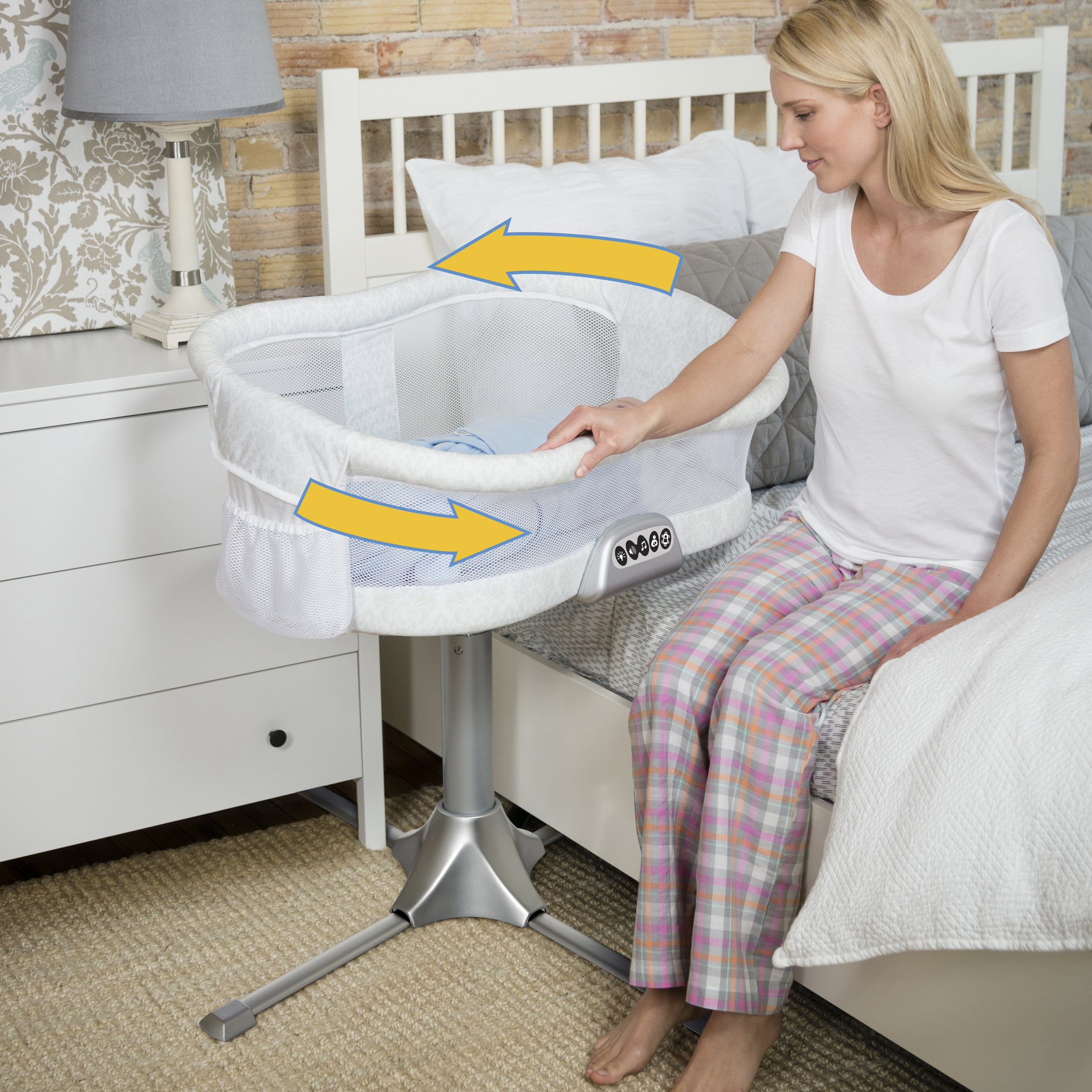 HALO Bassinest Swivel Sleeper – Premiere Series Bassinet by Halo (Image #4)