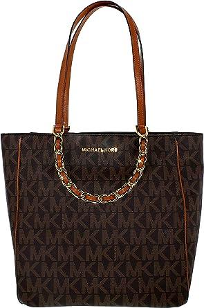 5129342c0e6e Amazon.com: MICHAEL Michael Kors Harper Large North/South Tote Bag ...