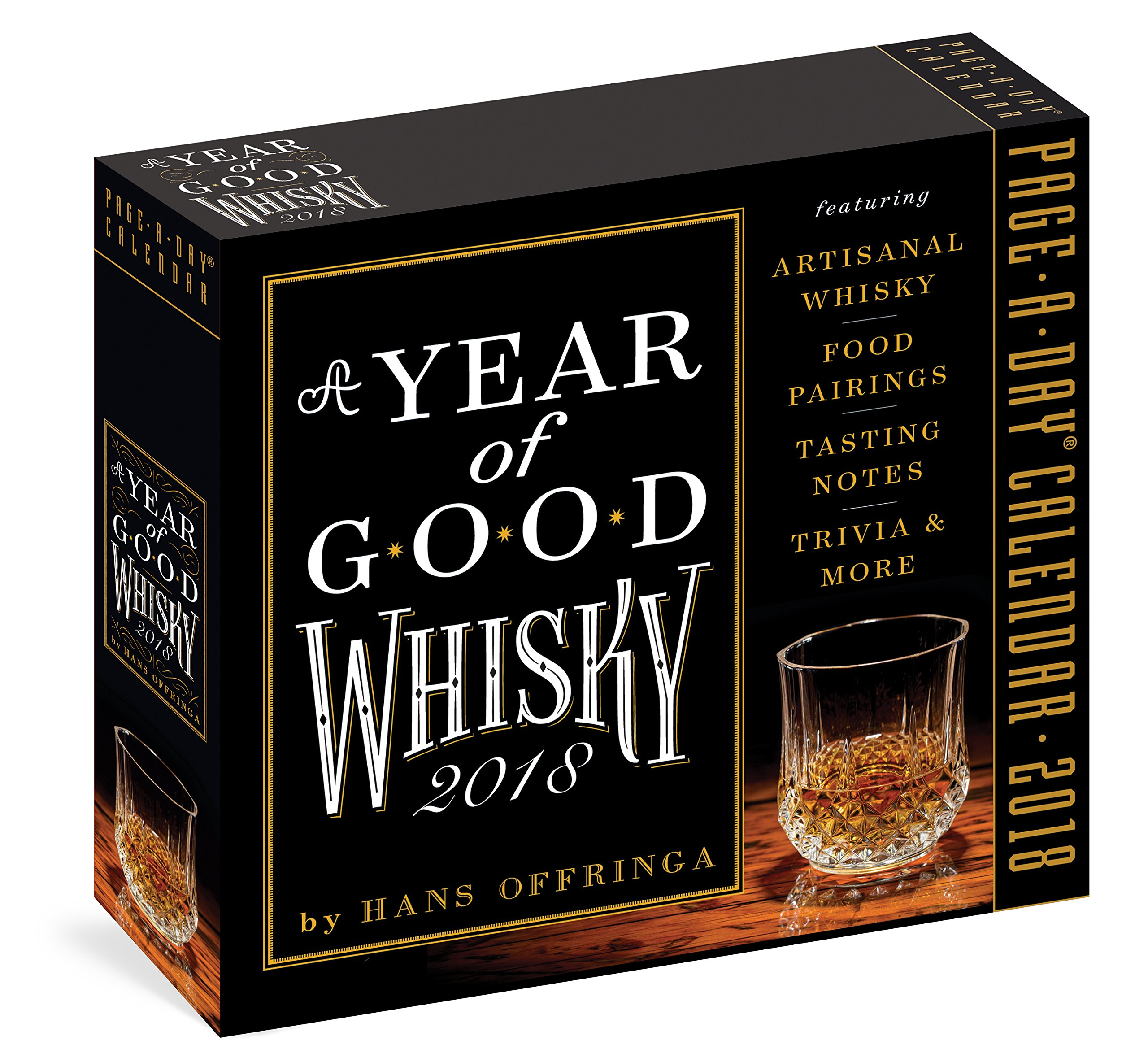 A Year of Good Whisky Page-A-Day Calendar 2018: Hans Offringa:  9781523501588: Amazon.com: Books