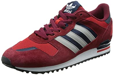 adidas ZX 700, Sneakers Basses Adulte Mixte - Rouge (Collegiate Burgundy/MGH Solid