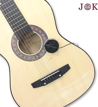 Pro JK MIC-J 024 Cardioid micrófono de condensador micrófono instrumento guitarra Piano Violín – 1/8