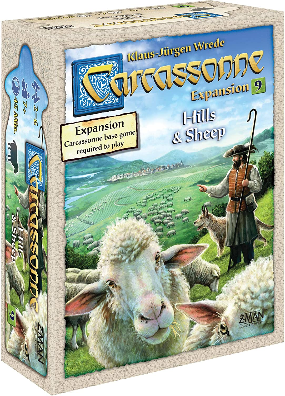 Z-Man Games Carcassonne Expansion 9: Hills and Sheep: Amazon.es: Juguetes y juegos