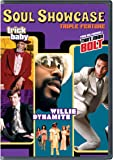 Soul Showcase Triple Feature (Willie Dynamite / That Man Bolt / Trick Baby)