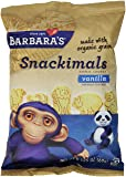 Barbara's Snackimals Animal Cookies, Vanilla, 2.125 Ounce
