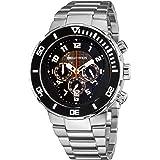 Philip Stein Men's 33-XB-SS Active Stainless Steel Bracelet Watch