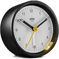 Braun Classic - Reloj Despertador analógico - BC12BW