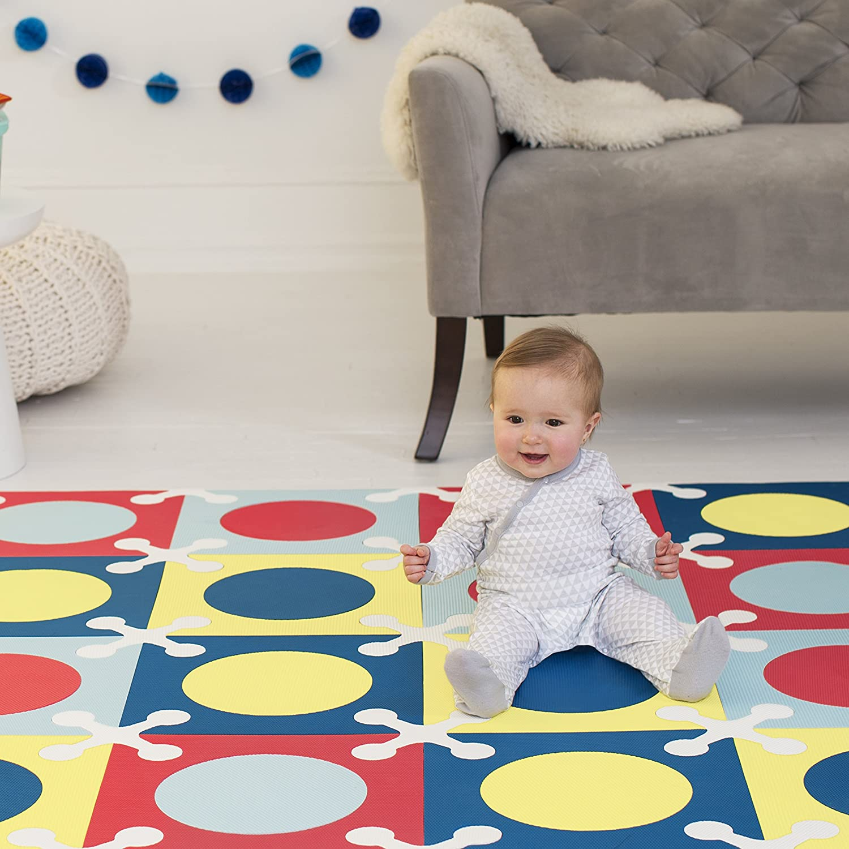 Amazon skip hop interlocking foam floor tiles playspot amazon skip hop interlocking foam floor tiles playspot multi mix baby doublecrazyfo Gallery