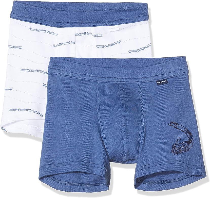 Schiesser Multipack 2pack Shorts Pantalones Cortos, Multicolor (Sortiert 1 901), 92 (Talla del Fabricante: 092) (Pack de 2) para Niños: Amazon.es: Ropa y accesorios