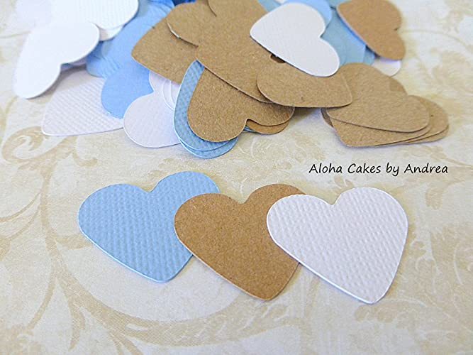 Amazon Baby Shower Heart Confetti Modern And Simple Wedding