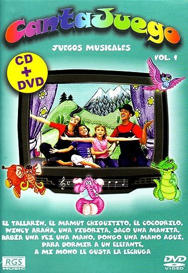 Cantajuego Vol.1 [+Bonus Dvd] - Amazon.com Music