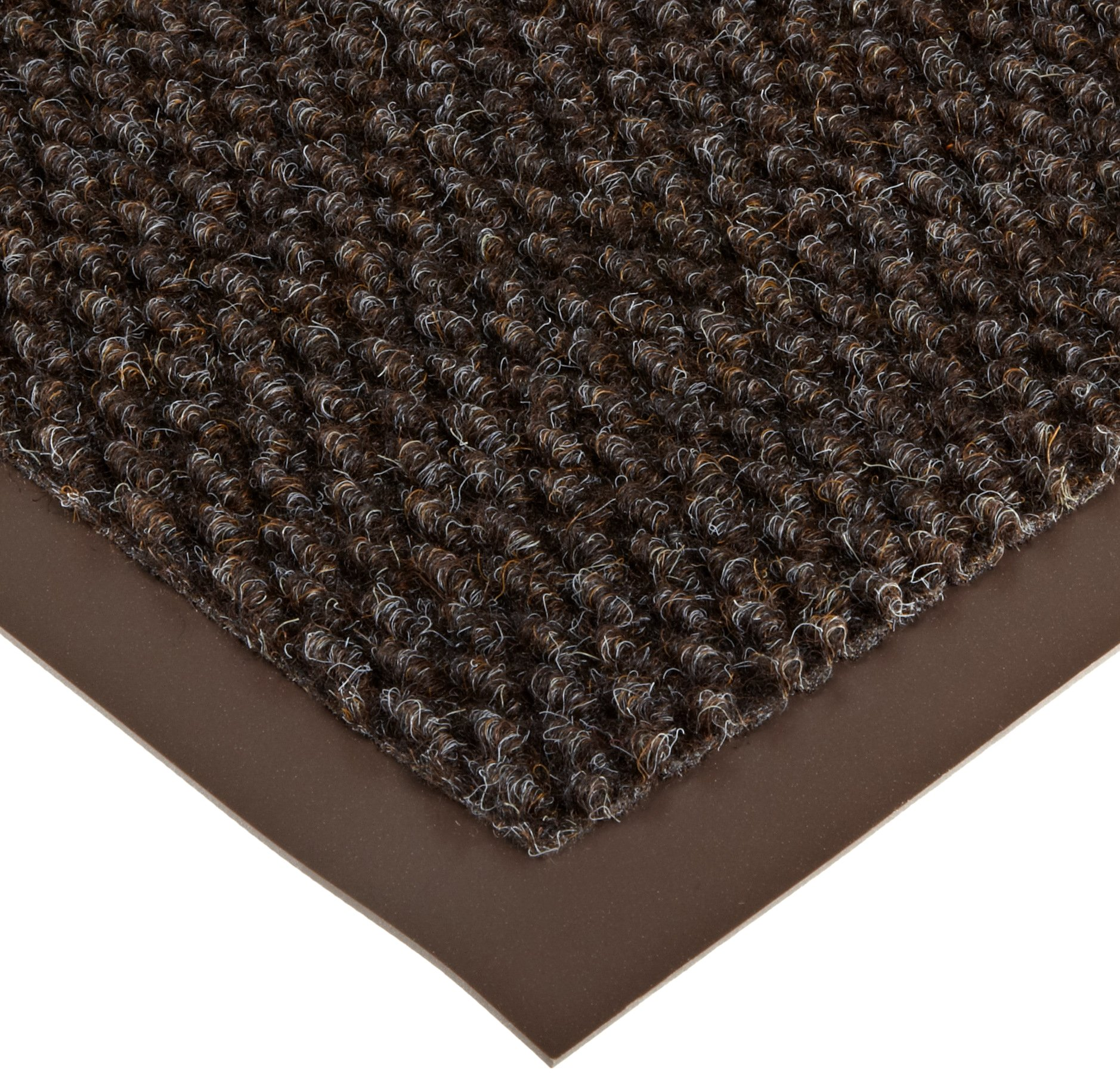 NoTrax AX-AY-ABHI-19843Notrax 136 Polynib Entrance Mat, for Lobbies and Indoor Entranceways, 2' Width x 3' Length x 1/4'' Thickness, Brown by NoTrax Floor Matting