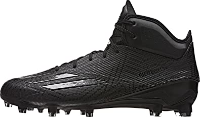 38137efcd adidas Adizero 5-Star 5.0 Mid Mens Football Cleat 9 Black