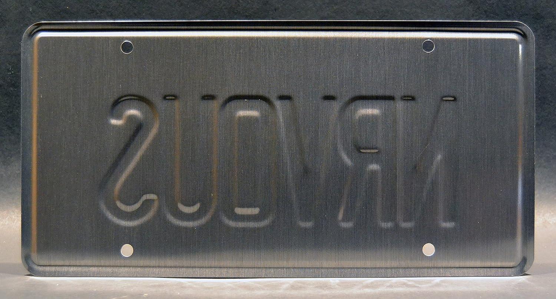 Celebrity Machines Nummernschild Mit Ferris Bueller S Day Off Nrvous Gestempelt Auto