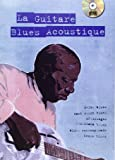 Lelong Michel La Guitare Blues Acoustique Guitar Tab Book/Cd French.