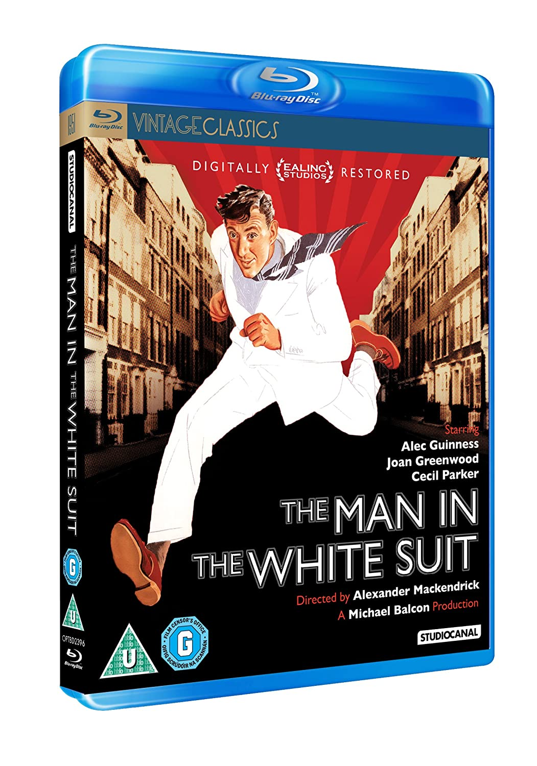 Amazon.com: The Man in the White Suit (El hombre del traje blanco)  [ NON-USA FORMAT, Blu-Ray, Reg.B Import - United Kingdom ]: Alec Guinness, Cecil Parker ...