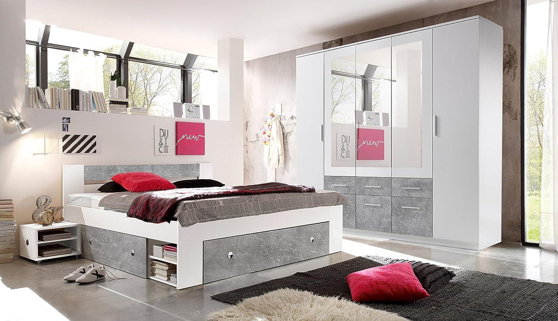 Schlafzimmer komplett bett 120x200 baby bettw sche for Jugendzimmer 120x200