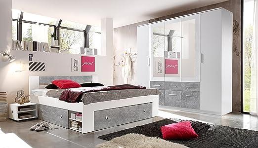 moebel-guenstig24.de Schlafzimmer Komplett Set 4-TLG. Stefan Bett ...