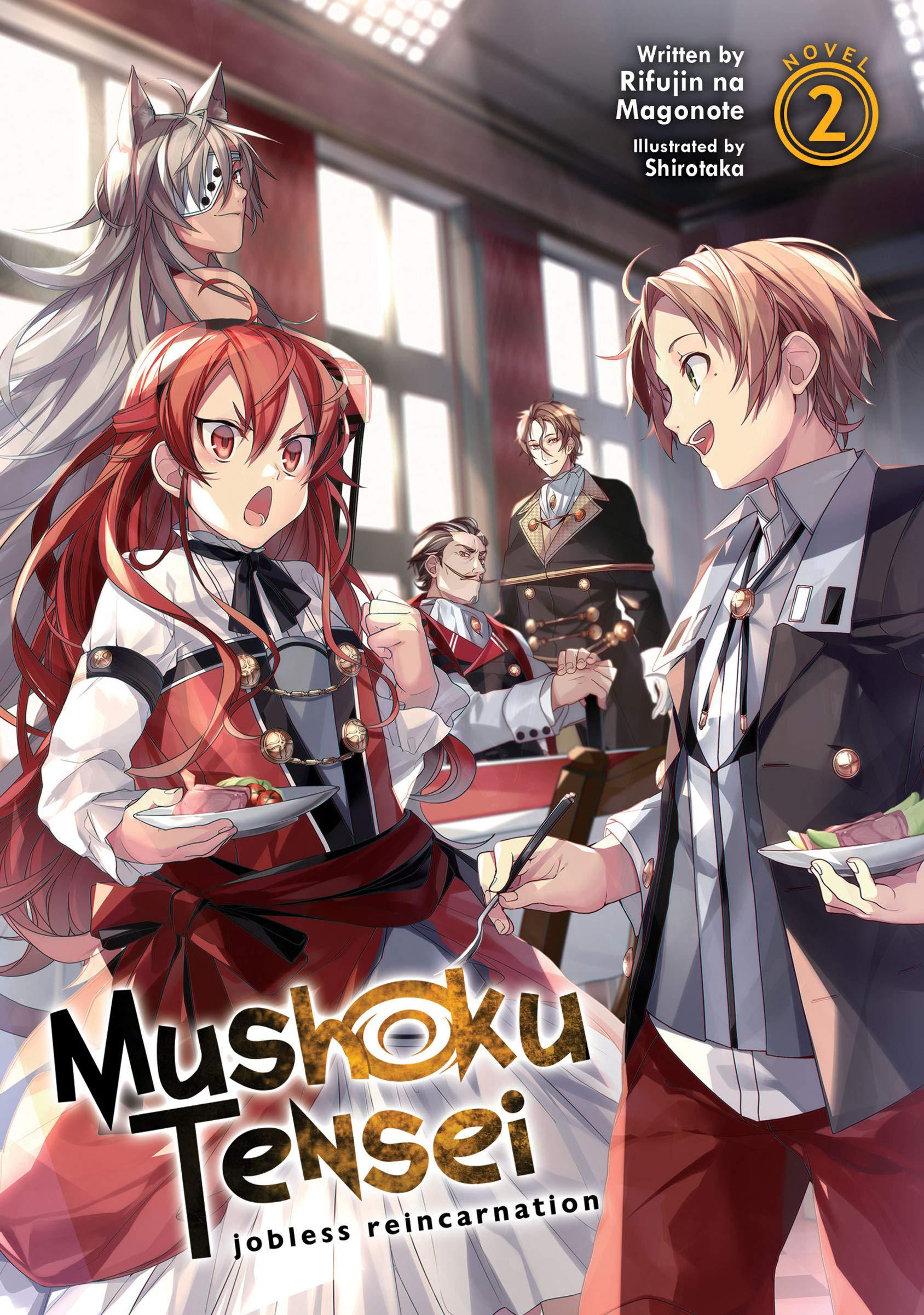 Mushoku Tensei: Jobless Reincarnation (Light Novel) Vol. 2 por Rifujin na Magonote